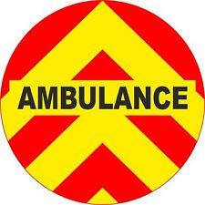 4x4 Spare Wheel Cover 4 x 4 Camper Graphic Sticker Ambulance AA212