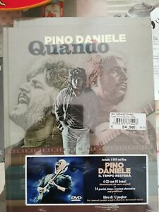 PINO DANIELE🔹quando🔹6 CD+DVD FILM+LIBRO🔹✅ NUOVO SIGILLATO