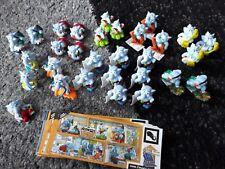 Kinder Überraschung Ü Ei Die Heimwerker Elefanten 2011 30 Figuren + USB...