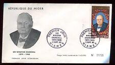 Niger - Enveloppe FDC 1965 - Sir Winston Churchill - O 293