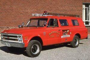 Blairsville PA 1975 Chevrolet Mini Pumper - Fire Apparatus Slide