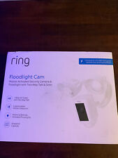 New listing Ring Floodlight Camera Motion-Activated Hd Security Camera - White