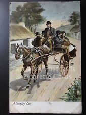 c1904 A Country Car - Horse and trap / cart