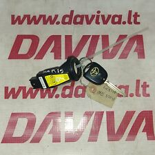 TOYOTA YARIS VERSO 2004 IMMOBILISER & KEY 89783-52020 / 627727-000