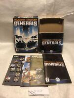 Command & Conquer - Generals PC Game   Complete Big Box (2003) Authentic