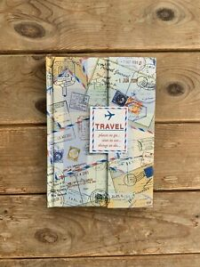 A5 Travel Journal With Plain Lined Paper - Brand New, Unused