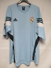 Maillot REAL MADRID vintage ADIDAS training shirt camiseta époque ZIDANE 8 XXL