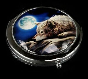 Quite Reflections  Compact Mirror By Nemesis Now