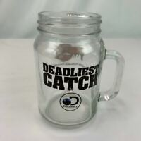 Red Lobster and Deadliest Catch Mason Jar Mug Cocktail Glass Promo 1 glass