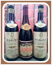 3 BOTTIGLIE BAROLO 1968-69 DA COLLEZIONE