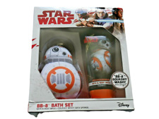 Star Wars BB-8 Bath Gift Set Containing Sponge & Body Wash Official Disney