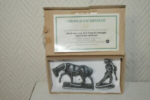 Figurine Napoleon Horse of The Forge & Aprrenti Of Cuirrassiers Mhsp Atlas New