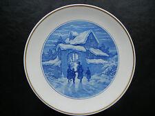 Meissen Wandteller Porzellan 1938: Frau mit Kindern am Toreingang (meine Pos.4)