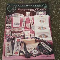 Personally Yours by Melinda Cross My Heart Cross Stitch Alphabet Monogram CSB-92