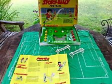 More details for vintage subbuteo sport billy football box set game 1980 'rare' & complete
