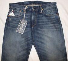 POLO RALPH LAUREN Mens Classic 867 Blue Jeans NWT 32 x 34