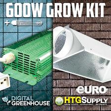 Digital 600 watt Hps Grow Light 600w w Ballast + Hood