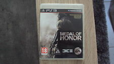 jeu sony PS3 : MEDAL OF HONOR - complet