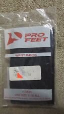 Pro Feet Wrist Bands - Navy - One Pair - One Size Fits All - New    (7 T)
