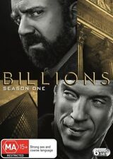 Billions : Season 1 (DVD, 6 -Disc Set) R-4, LIKE NEW, FREE SHIPPING IN AUSTRALIA