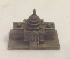 UNITED STATES CAPITOL PEWTER FIGURINE WASHINGTON DC WA PW MADE IN GREAT BRITIAN