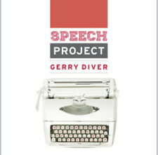 Gerry Diver : The Speech Project CD (2012) ***NEW***