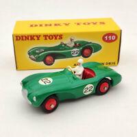 DeAgostini Dinky Toys 110 Aston Martin DB3 Sports #22 Green Diecast Models 1:43