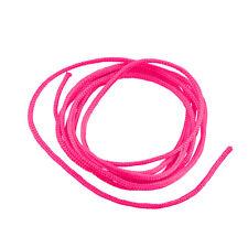 Fluorescent Pink 1.5mm Round Braided Nylon Cord 1 Metre (G99/3)