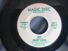 SOUL 45: MARY LOVE Joy/SANTA'S DISCO BAND: Santa Claus Is Coming To Town Disco