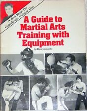Guide to Martial Arts Training With Equipment SIGNED by Guro Dan Inosanto JKD