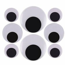 2 Inch 3 Inch 4 Inch Large Googly Wiggle Eyes with Self-Adhesive