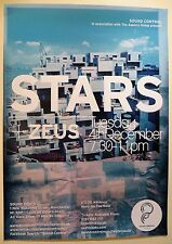 STARS + ZEUS Gig/Tour Band Promo POSTER the north no one is lost and found heart