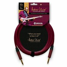 Cordial Andrew Gouché 20 Foot 1/4″ to 1/4″ Straight Cable - Purple - Open Box