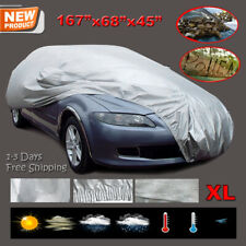 XL Outdoor Indoor Full Car Cover Breathable Scratchproof All Weather Protection