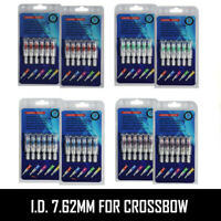 Lot 2 Packs (6Pcs/Pack) Lighted Nock 4 Color Long Time I.D. 7.62mm For Crossbow