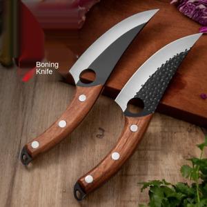 Küchenmesser Ausbeinmesser Hackmesser Handgeschmiedet Japanisches Edelstahlmeser