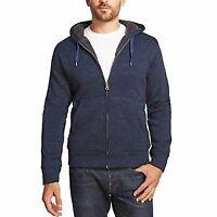 Weatherproofxae Vintage Men's Full Zip Fleece Hoodie