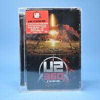 U2 360 At The Rose Bowl DVD - Live Concert - NEW SEALED