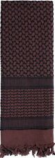 Chocolate Brown Digital Shemagh Face Veil Shimagh Desert Arab Scarf ROTHCO 8537