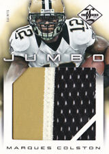 012 LEAF LIMITED MARQUES COLSTON JUMBO NUMBERS LOGO JERSEY PATCH #8/10
