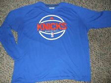 New York Knicks Basketball Long Sleeve T-Shirt 2XL