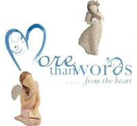 NEW MORE THAN WORDS, ORNAMENTS, FIGURINES, COLLLECTABLES, GIFTS & OCCASIONS