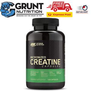 Optimum Nutrition Micronized Creatine 100 Capsules