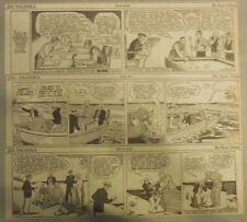(26) Joe Palooka Ham Fisher /Al Capp Dailies from 5/1931 Size: 3 x 12 inches