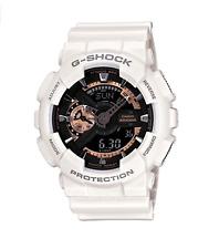 Casio Men's GA110RG-7A 'G-Shock' Chronograph White Glossy White Resin Watch