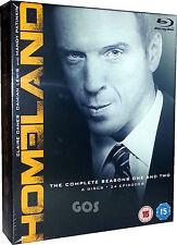 Homeland The Complete Seasons 1 2 Bluray Boxset USA TV Drama Series New Sealed