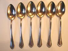 6 Cucchiaio Moka, 9,3cm, 800, XX, ORIGINALE NOUVEAU, 2 volte disponibile