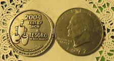 Commerative large/dollar size /heavy medal/Token /El Tesoro #110