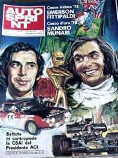 Autosprint 48 1972 Storia di  Achille Varzi - con stampa colori di E. Fittipaldi