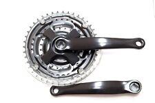 Fahrrad Kurbel Garnitur 3-fach 42-34-24 Zähne 170mm schwarz Antrieb Kettenrad